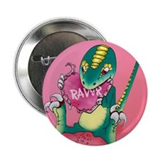 "Raptor Love 2.25"" Button (10 pack)"