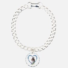 Squirrel in Heart Bracelet