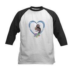 Squirrel in Heart Tee