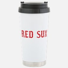 Red Sux Vintage Travel Mug