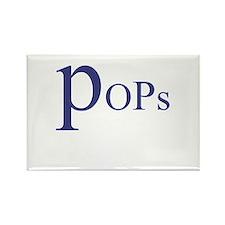 Pops Rectangle Magnet