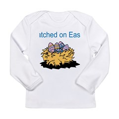 Hatched on Easter Long Sleeve Infant T-Shirt