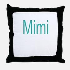 Bold Mimi Throw Pillow
