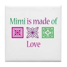 Mimi Made of Love Tile Coaster