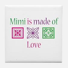 Mimi Made of Love Tile Coaster
