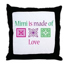 Mimi Made of Love Throw Pillow