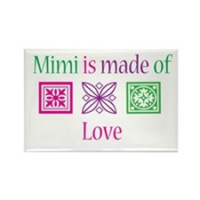 Mimi Made of Love Rectangle Magnet