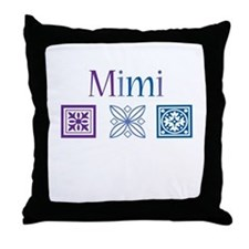 Mimi Craft Throw Pillow