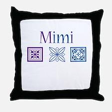 Mimi Craft Throw Pillow