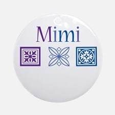 Mimi Craft Ornament (Round)