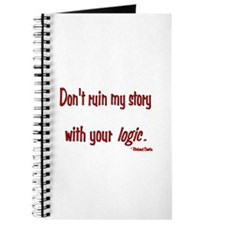 Castle Don't Ruin My Story Journal