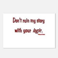 Castle Don't Ruin My Story Postcards (Package of 8