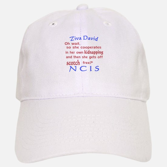 NCIS Ziva Quote: Scotch Free Baseball Baseball Cap