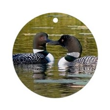 Loon Ornament (Round)