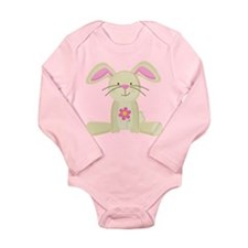 Easter Bunny Spring Long Sleeve Infant Bodysuit