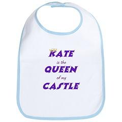 Castle: Kate is Queen Bib