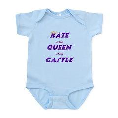 Castle: Kate is Queen Infant Bodysuit
