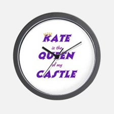 Castle: Kate is Queen Wall Clock