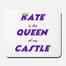 Castle: Kate is Queen Mousepad