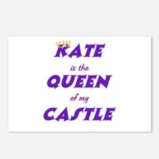 Castle: Kate is Queen Postcards (Package of 8)