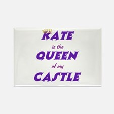 Castle: Kate is Queen Rectangle Magnet