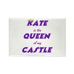 Castle: Kate is Queen Rectangle Magnet (10 pack)