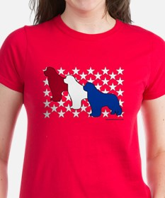 Patriotic Newfies Tee