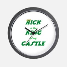 Castle: Rick is King Wall Clock