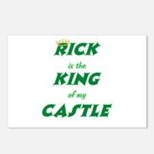 Castle: Rick is King Postcards (Package of 8)