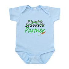 Castle Quote: Plucky Sidekick Infant Bodysuit