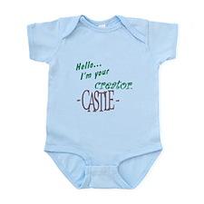 Castle quote: I'm Your Creator Infant Bodysuit