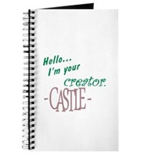 Castle quote: I'm Your Creator Journal