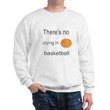 Funny No crying baseball Sweatshirt