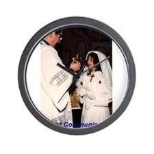 Cute First holy communion Wall Clock