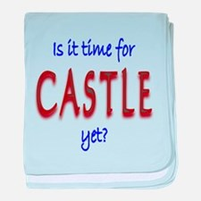 Time For Castle baby blanket