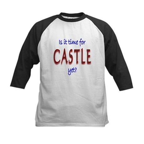 Time For Castle Kids Baseball Jersey