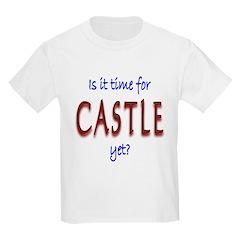 Time For Castle Kids Light T-Shirt