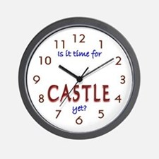 Time For Castle Wall Clock