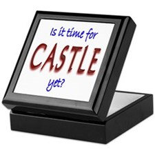 Time For Castle Keepsake Box