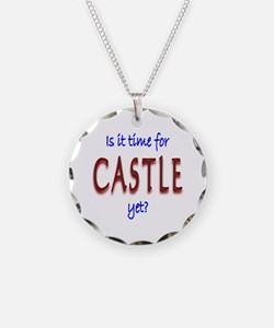 Time For Castle Necklace