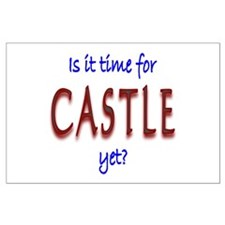 Time For Castle Large Poster