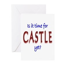 Time For Castle Greeting Cards (Pk of 20)