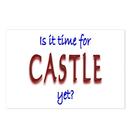 Time For Castle Postcards (Package of 8)