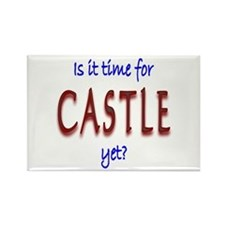 Time For Castle Rectangle Magnet