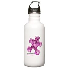 PuzzlesPuzzle (Pink) Water Bottle