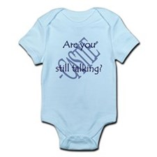 Beckett Quote - Still Talking Infant Bodysuit