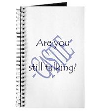 Beckett Quote - Still Talking Journal