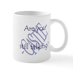 Beckett Quote - Still Talking Mug