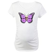 Skullerfly Pink Shirt