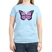 Skullerfly Pink T-Shirt